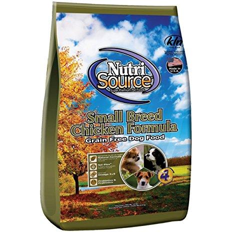 NutriSource Small Breed Chicken Grain Free 2,3kg