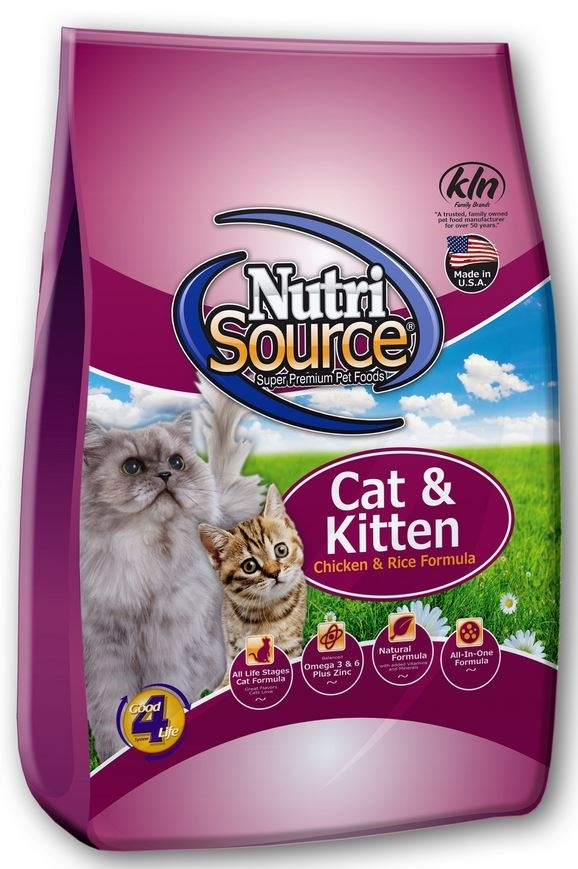 NutriSource Cat & Kitten Chicken and Rice 3kg