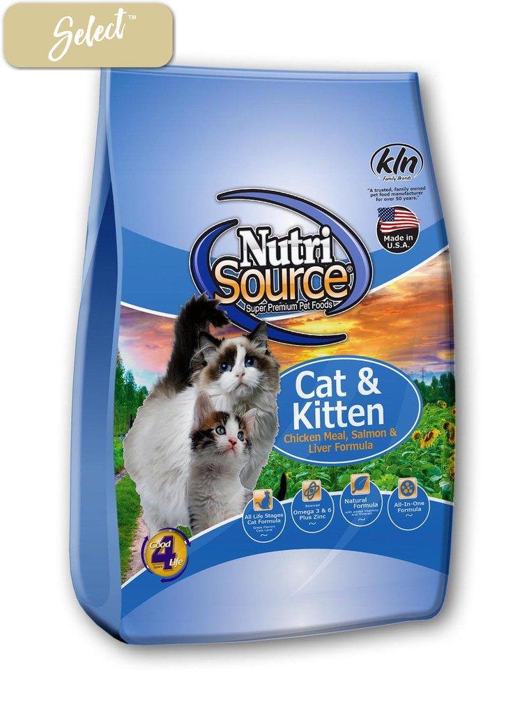 NutriSource Cat & Kitten Chicken, Salmon & Liver 3kg