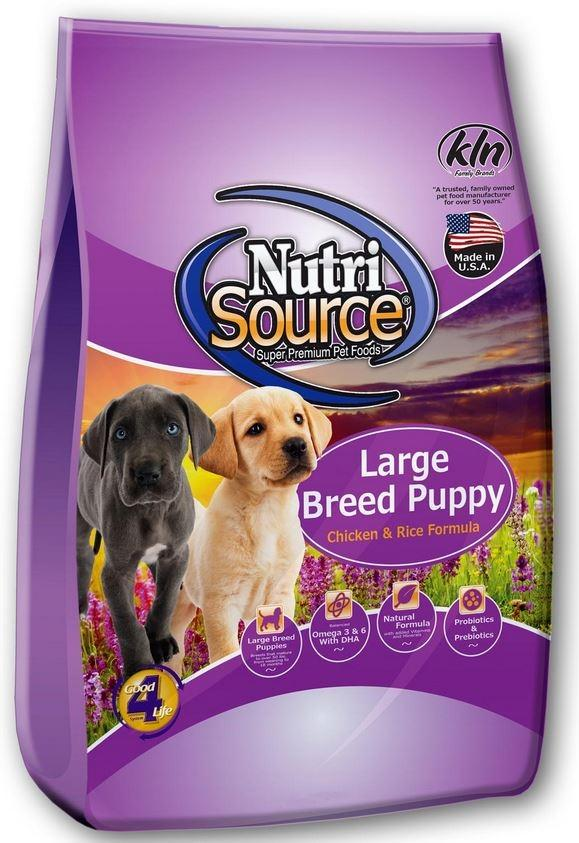 NutriSource Large Breed Puppy Chicken & Rice 3kg