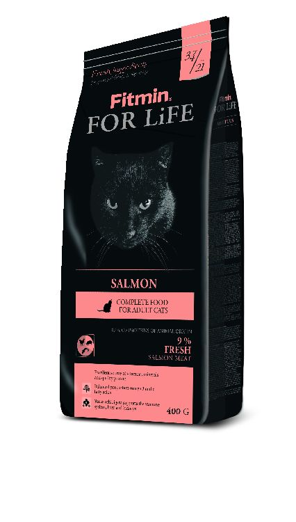 Fitmin Cat For Life Salmon 400g