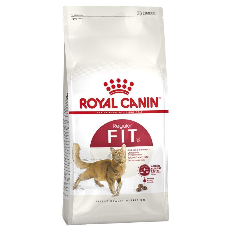 Thức ăn viên Royal Canin Fit 32 400g