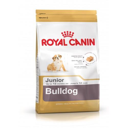 Thức ăn viên Royal Canin Bulldog Junior 1kg