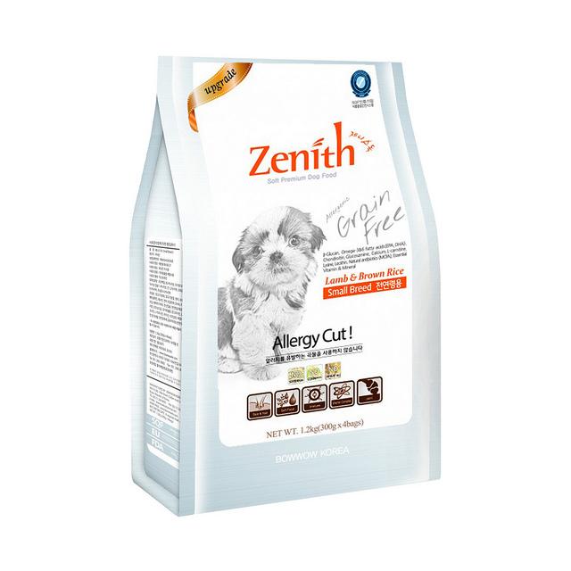 Thức ăn hạt mềm cho chó nhỏ Zenith 1,2kg