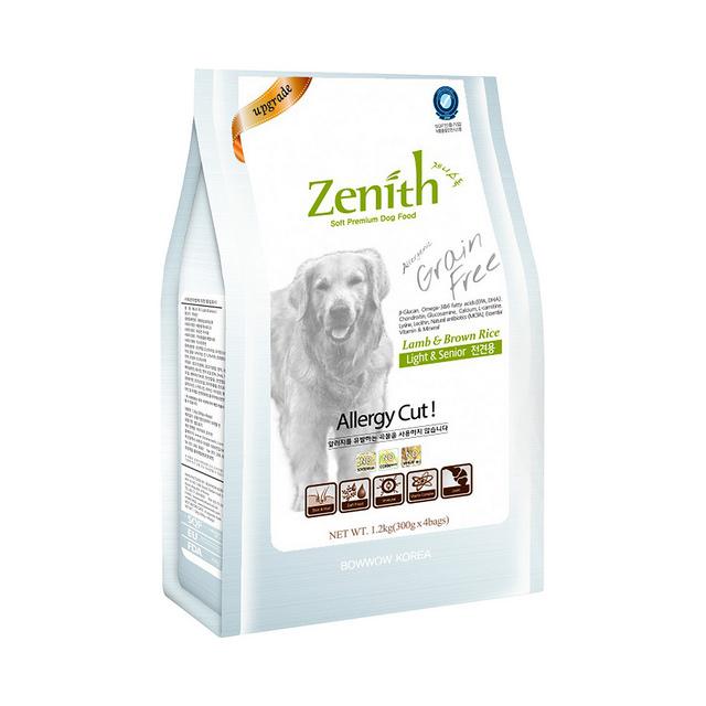 Thức ăn hạt mềm chó già Zenith 1,2kg
