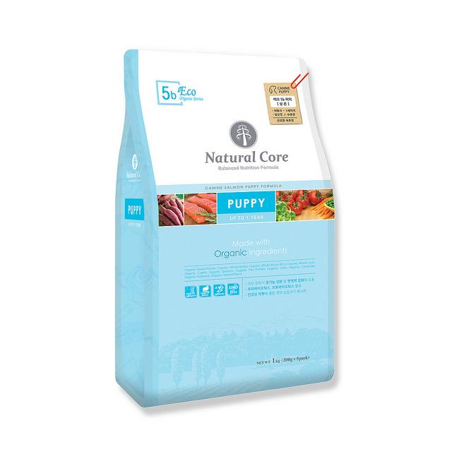 Thức ăn cho chó con Natural Core cá hồi 1kg