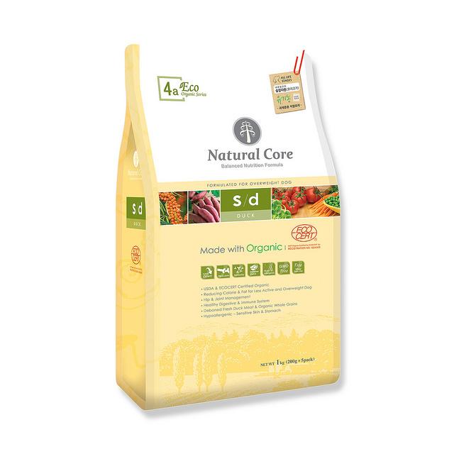 Thức ăn giảm cân cho chó Natural Core thịt vịt 1kg