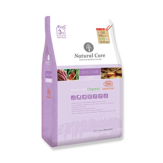 Thức ăn cho chó dị ứng Natural Core thịt cừu 1kg
