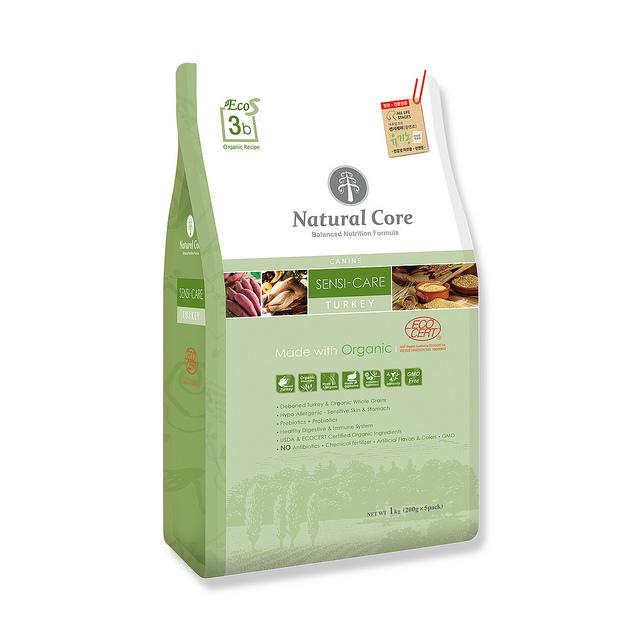 Thức ăn cho chó dị ứng Natural Core thịt gà tây 1kg