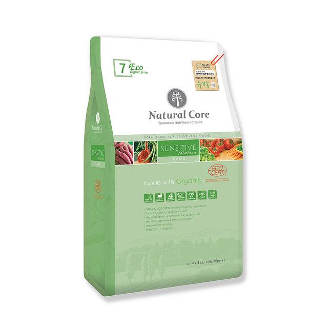 Thức ăn cho chó nhạy cảm Natural Core thịt cừu 1kg