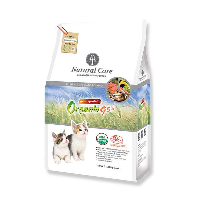 Thức ăn giàu đạm cho mèo Natural Core 95 1kg