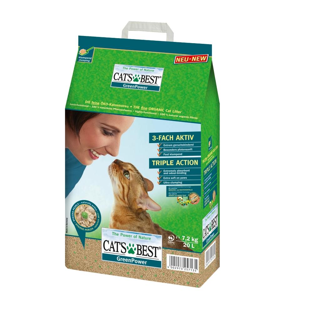 Cát vệ sinh cho mèo GreenPower