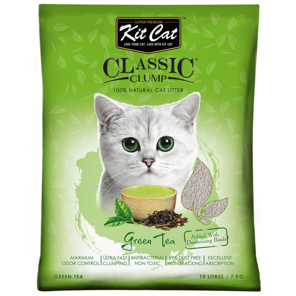Cát vệ sinh cho mèo Kit Cat dạng sỏi 10L