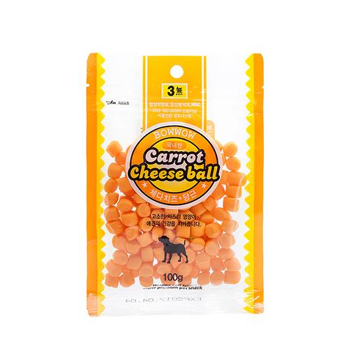 Phô mai viên cà rốt