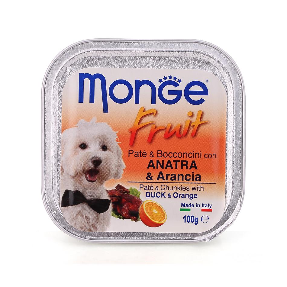 Pate Monge vị vịt và cam 100g