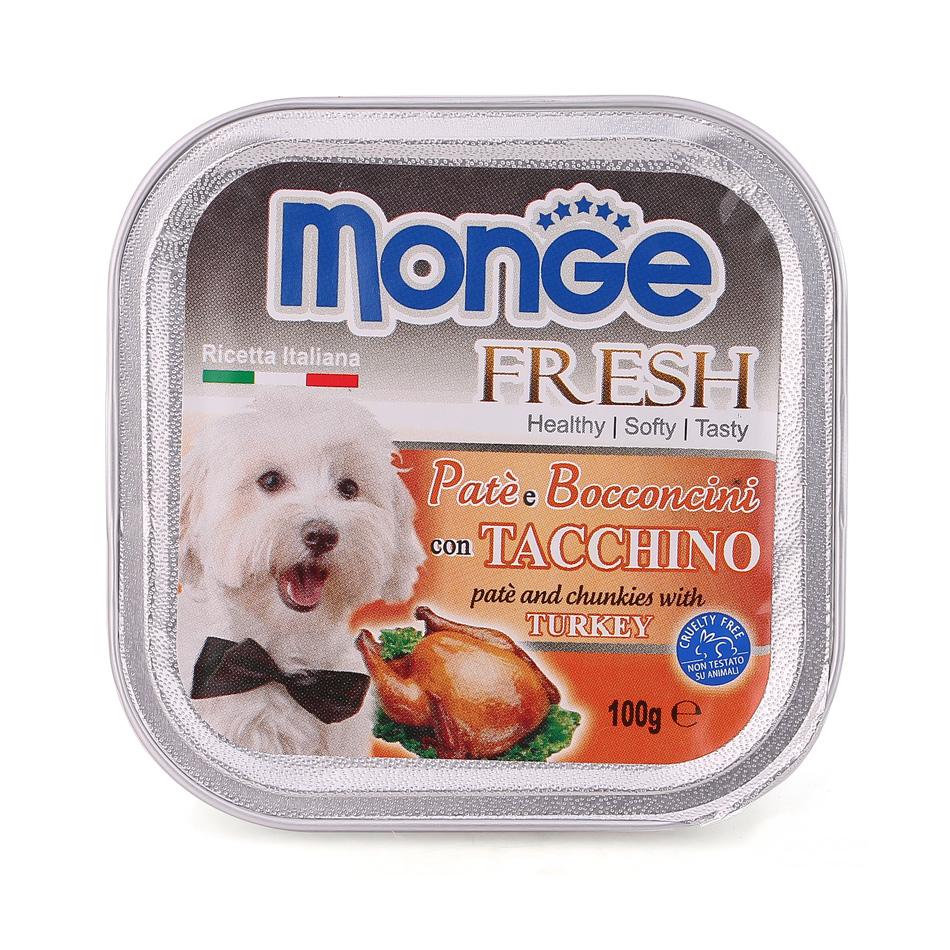 Pate Monge vị gà tây 100g