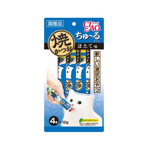 CIAO Cat Snack Churu Grilled Tuna with Scallop 12g
