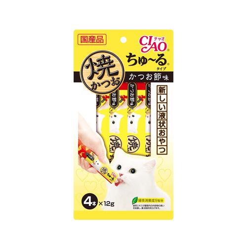 CIAO Cat Snack Churu Grilled Tuna with Maguro 12g