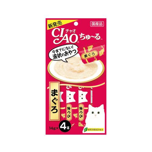 CIAO Cat Snack Churu Tuna Makuro 14g