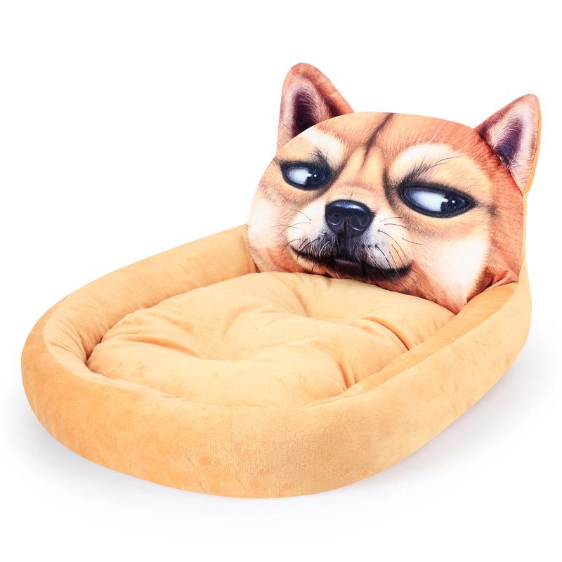Giường ngủ mặt thú 3D size S