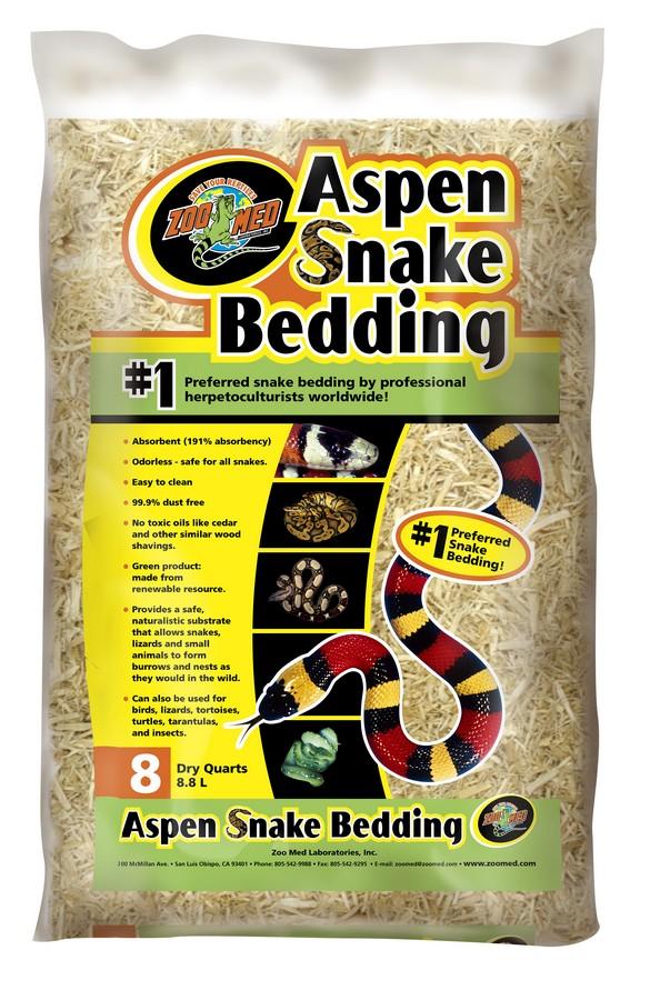 Chất nền lót chuồng Aspen Snake Bedding 4,4L