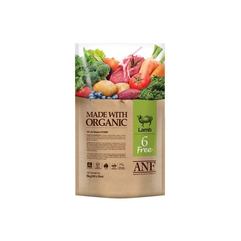 Thức ăn viên ANF Organic 6Free Lamb 2kg