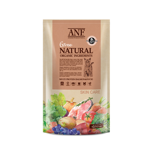Thức ăn viên ANF Organic 6Free Skin Care 1kg