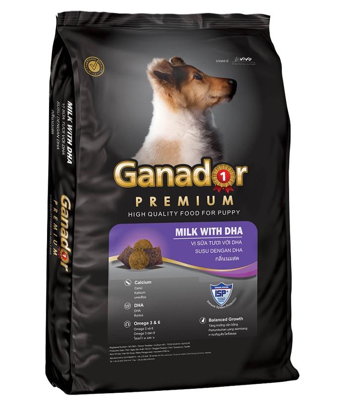 Thức ăn viên cho chó con Ganador Puppy 500g