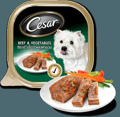 Pate Cesar vị thịt bò và rau củ 100g