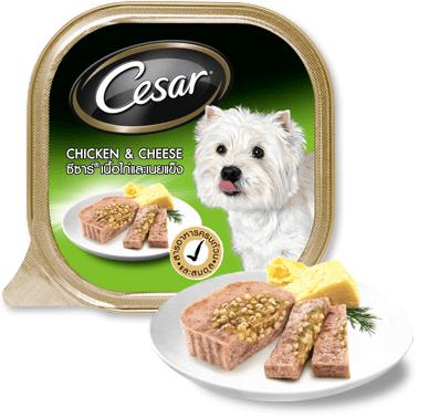 Pate Cesar vị thịt gà và phô mai 100g