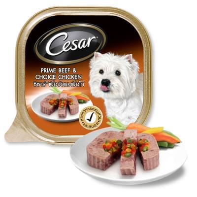 Pate Cesar vị thịt bò thăn và gà 100g
