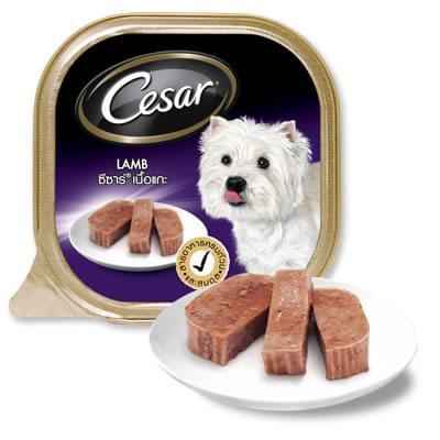 Pate Cesar vị thịt cừu 100g