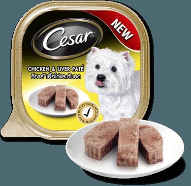 Pate Cesar vị thịt gà và gan 100g