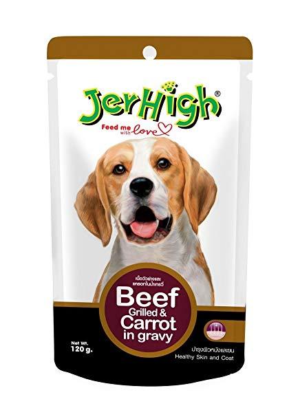 Pate Jerhigh vị thịt bò và cà rốt 120g