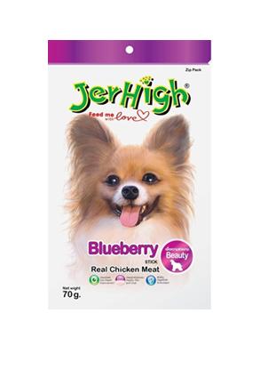 Snack Jerhigh cho chó vị việt quất 70g
