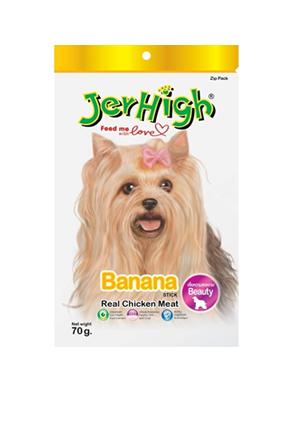 Snack Jerhigh cho chó vị chuối 70g