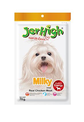 Snack Jerhigh cho chó vị sữa 70g