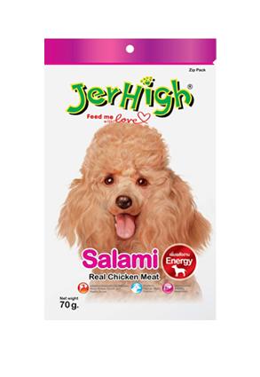 Snack Jerhigh cho chó vị xúc xích Ý 70g