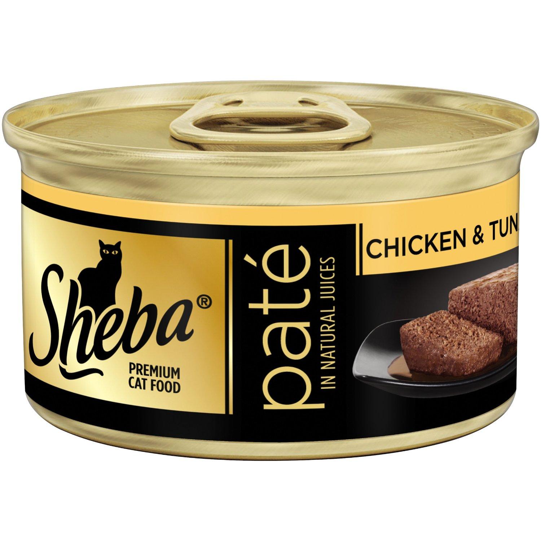 Pate Sheba vị gà và cá ngừ 85g
