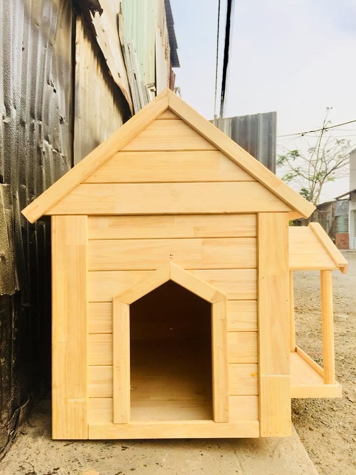 Nhà gỗ cho chó mèo nhỏ