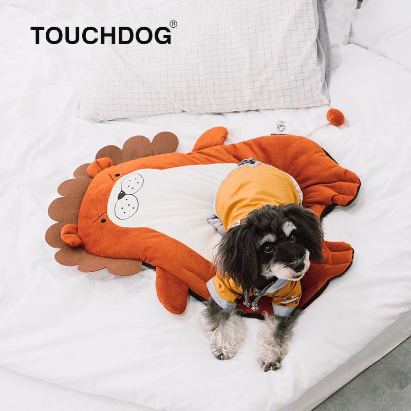 Nệm hình gấu cho chó mèo Touchdog