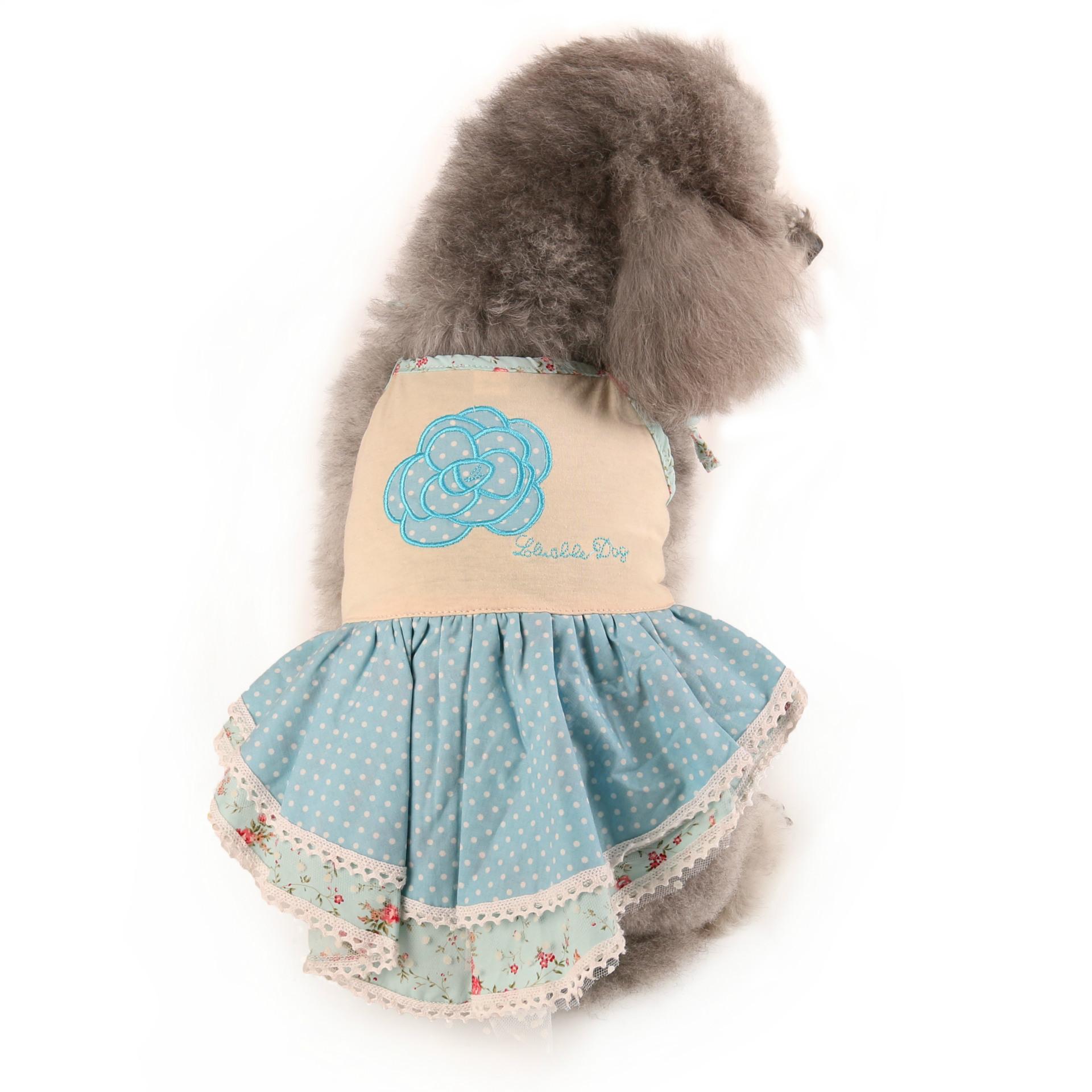 Đầm dây in hoa Lavable Dog