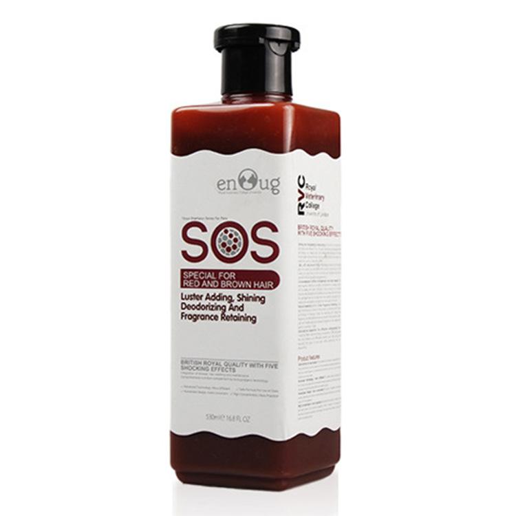 Sữa tắm SOS chó lông nâu, đỏ 530ml