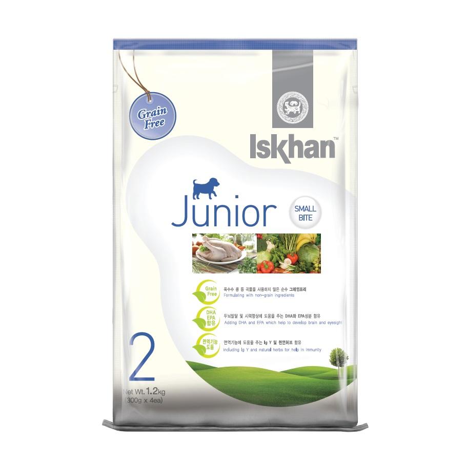 Thức ăn cho chó con Iskhan Junior 1,2kg
