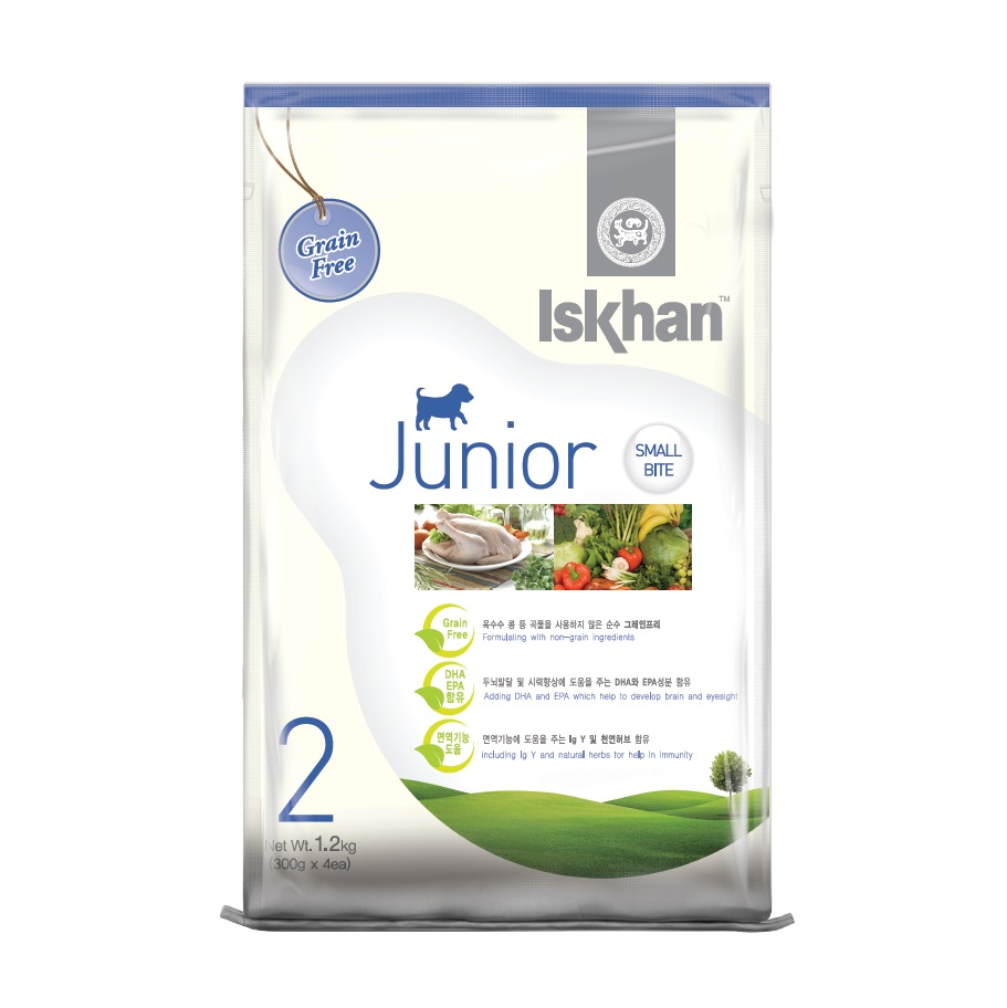 Thức ăn cho chó con Iskhan Junior 7kg