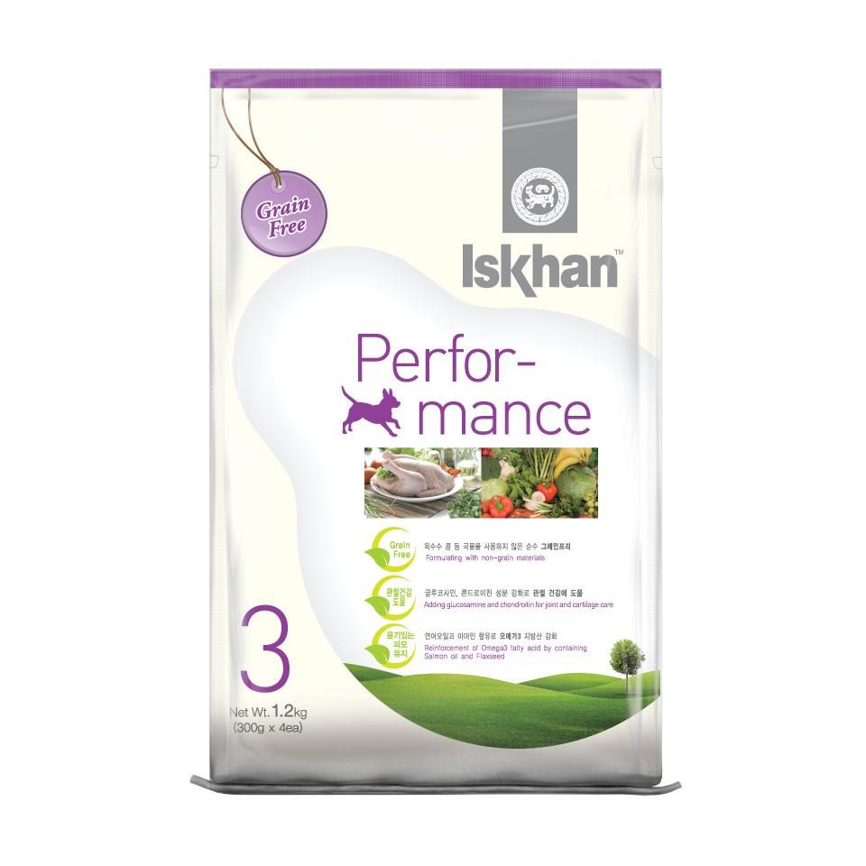Thức ăn cho chó lớn Iskhan Performance 1,2kg