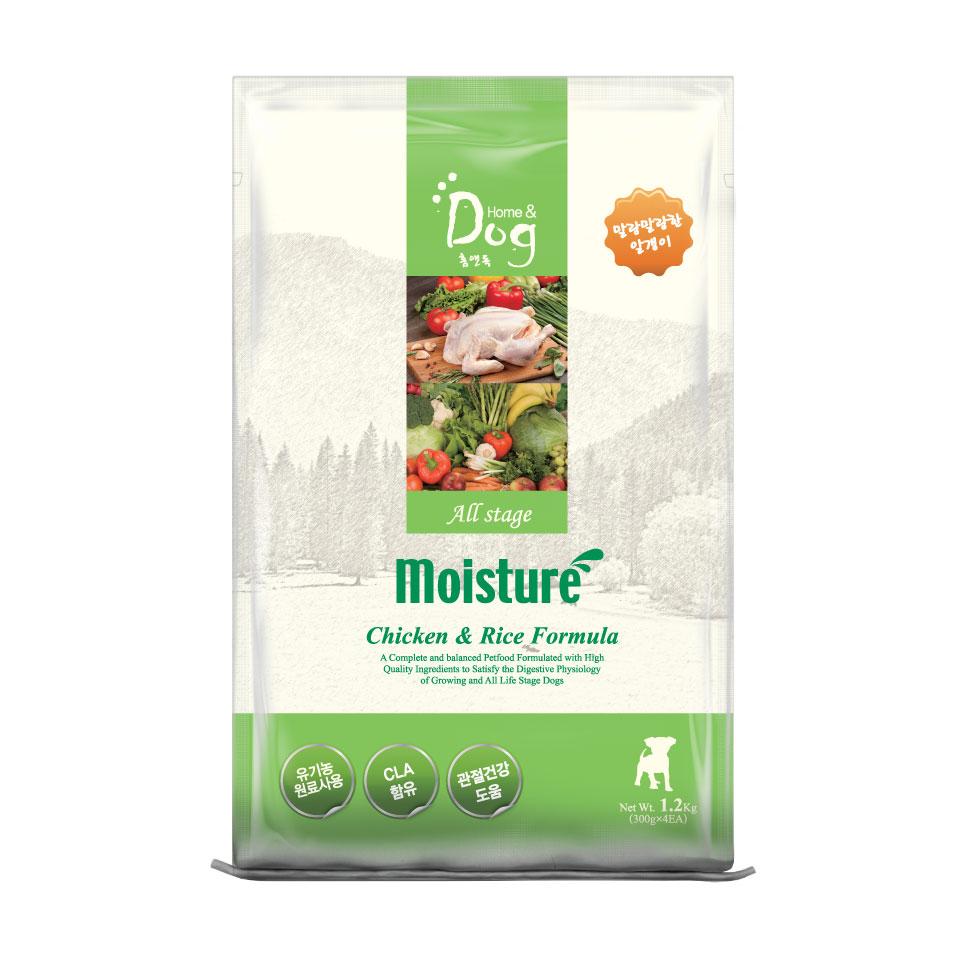 Thức ăn hạt mềm Home Dog Moisture 1,2kg