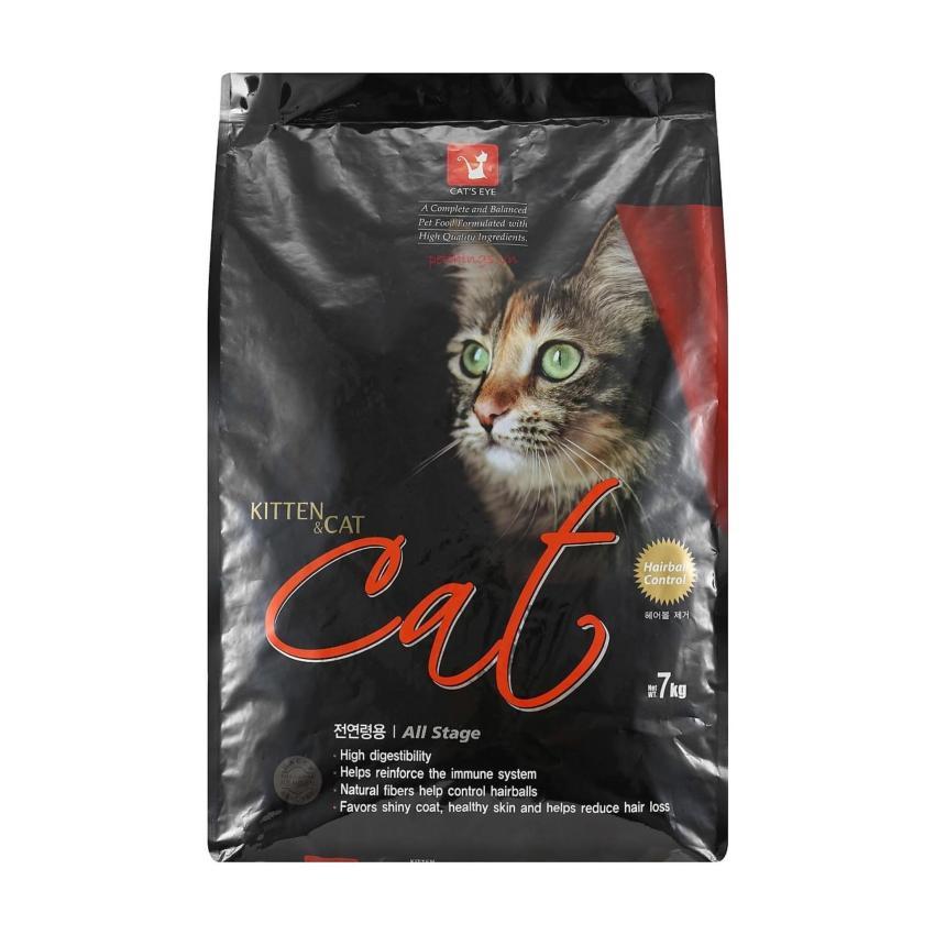Thức ăn viên cho mèo mọi độ tuổi Cat's Eye Kitten & Cat 7kg