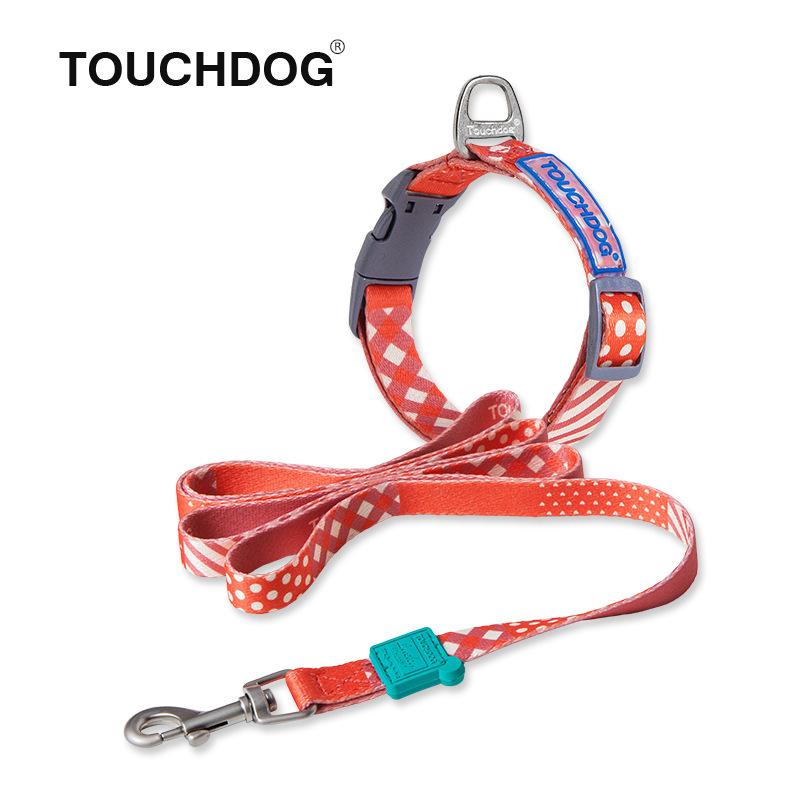 Dây dẫn và vòng cổ Touchdog chó mèo dưới 20kg