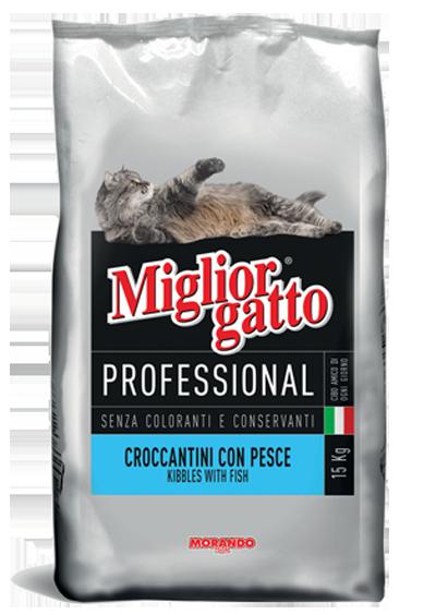 Thức ăn viên Miglior Gatto Professional 15kg